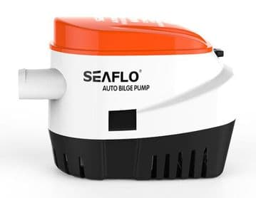 AUTOMATIC 24V BILGE PUMP 600GPH WITH INTERNAL FLOAT SWITCH AUTO WATER BOAT